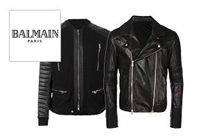 バルマン ライダースジャケット