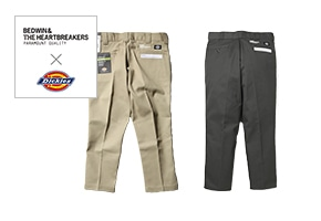 BEDWIN & THE HEARTBREAKERS(ベドウィン&ザハートブレイカーズ)×Dickies(ディッキーズ)