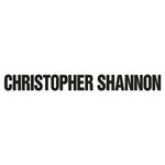 Christopher Shannon(クリストファー シャノン)