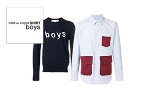 COMME des GARCONS SHIRT boys(コムデギャルソンシャツボーイズ)