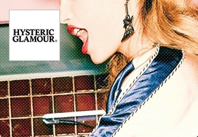 HYSTERIC GLAMOUR(ヒステリックグラマー) コラボ