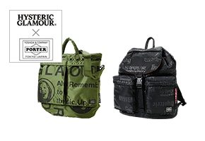 HYSTERIC GLAMOUR×PORTER(ヒステリックグラマー×ポーター)