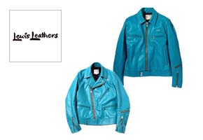 Lewis Leathers TURQUOISE(ルイスレザーズ) ターコイズ