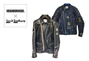 NEIGHBORHOOD×Lewis Leathers(ネイバーフッド×ルイスレザーズ)