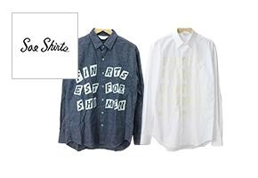 SOE shirts(ソーイシャツ)