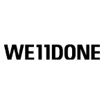 WE11DONE(ウェルダン)
