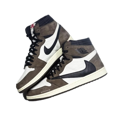AIR JORDAN(エアジョーダン)×TRAVIS SCOTT AJ1 HIGH OG TS