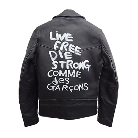 COMME des GARCONS(コムデギャルソン)×Lewis Leathers(ルイスレザーズ) ライダースジャケット '17年青山限定
