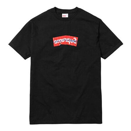 COMME des GARCONS(コムデギャルソン)×Supreme(シュプリーム) 17SS Box Logo Tシャツ