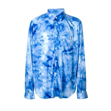 COMME des GARCONS(コムデギャルソン) 18AW ブルータイダイシャツ
