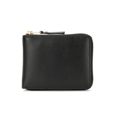 COMME des GARCONS(コムデギャルソン) ファスナー 財布 SA7100 ブラック