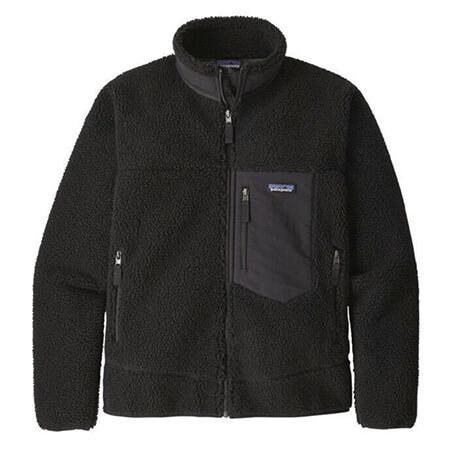 patagonia(パタゴニア) クラシックレトロX フリースジャケット ブラック