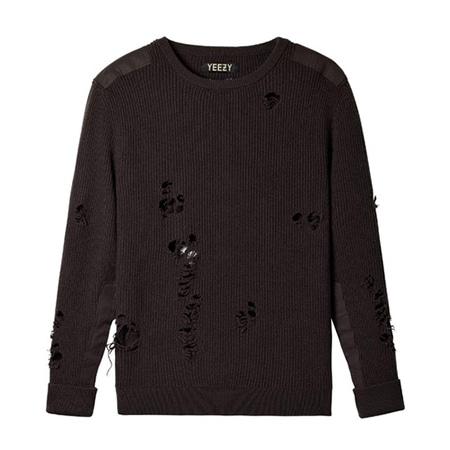 YEEZY(イージー) Season 1 Destroyed Sweater