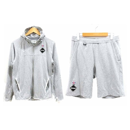 F.C.Real Bristol(エフシーレアルブリストル)×NIKE(ナイキ)15AW BIG SWOOSH SWEAT HOODIE Jacket/Pants SETUP