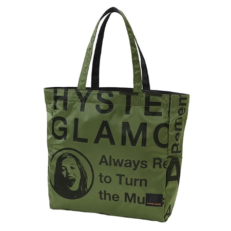 HYSTERIC GLAMOUR(ヒステリックグラマー)×PORTER(ポーター)18AW PORTER STAND ORIGINAL TOTE BAG トートバッグ