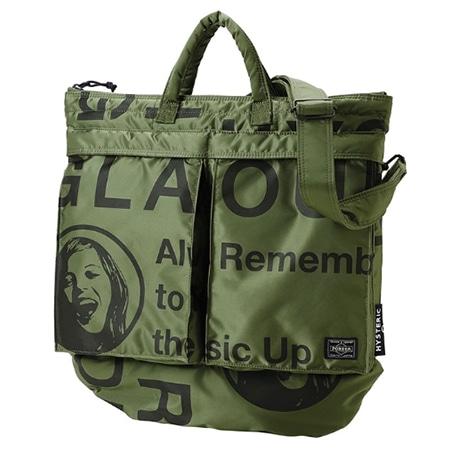 HYSTERIC GLAMOUR(ヒステリックグラマー)×PORTER(ポーター)18AW HELMET BAG ヘルメットバッグ