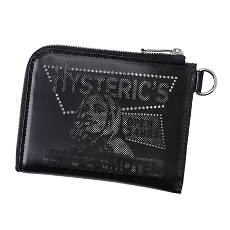 HYSTERIC GLAMOUR(ヒステリックグラマー)×PORTER(ポーター)17AW CAFE&MOTEL PUNCHING MULTIウォレット