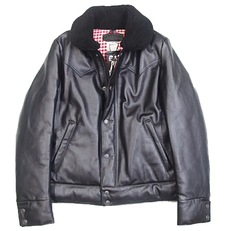 HYSTERIC GLAMOUR(ヒステリックグラマー)×Rocky Mountain(ロッキーマウンテン)LEATHER CHRISTY JK レザージャケット