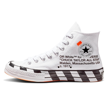 OFF-WHITE(オフホワイト)×CONVERSE(コンバース)18AW Chuck Taylor All-Star 70s Hi