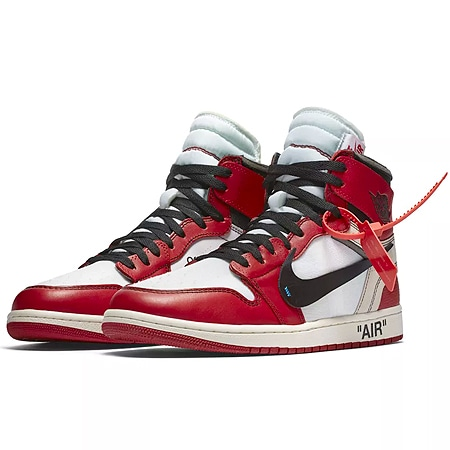 "OFF-WHITE(オフホワイト)×NIKE(ナイキ)17AW AIR JORDAN 1 ""THE TEN"" RETRO HIGH OG CHICAGO"