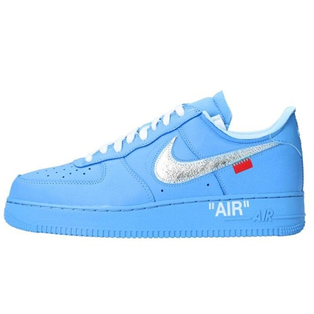 OFF-WHITE(オフホワイト)×NIKE(ナイキ)19SS AIR FORCE 1 LOW MCA BLUE-WHITE