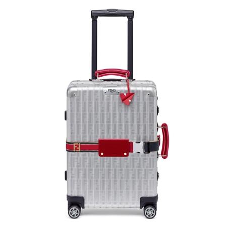 RIMOWA(リモワ)×FENDI(フェンディ)18SS スーツケース レッド