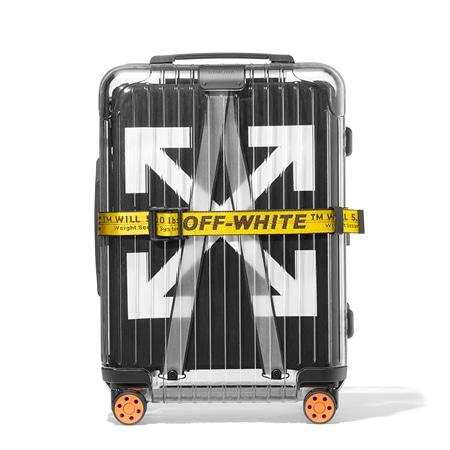 RIMOWA(リモワ)×OFF-WHITE(オフホワイト)18SS Essential See Through Black 透明スーツケース 36L