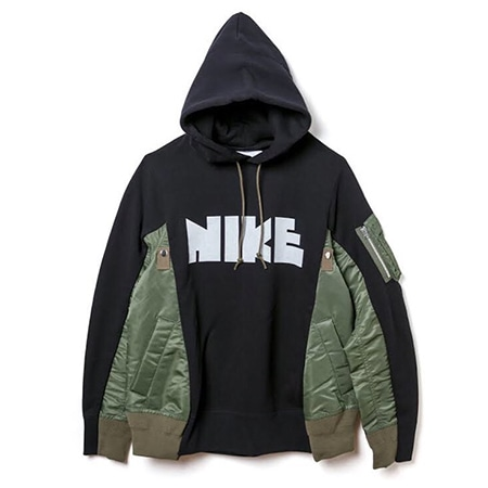 sacai(サカイ)×NIKE(ナイキ)18AW MA-1 Hoodie