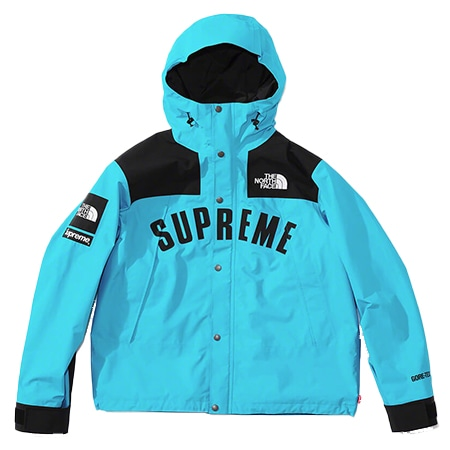 Supreme(シュプリーム)×THE NORTH FACE(ノースフェイス)19SS Arc Logo Mountain Parka アーチロゴ マウンテンパーカ Teal