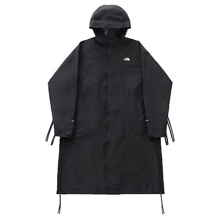 THE NORTH FACE(ザ ノースフェイス)×HYKE(ハイク) 19AW GTX PRO Hooded Coat フード付きGORE-TEXサイドジップマウンテンロングコート Black