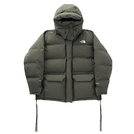 THE NORTH FACE(ザ ノースフェイス)×HYKE(ハイク)19AW WS Big Down Jacket サイドジップ付きGORE-TEXオーバーサイズダウンジャケット