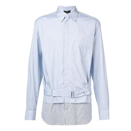 3.1Phillip Lim(スリーワンフィリップリム) 19AW レイヤード シャツジャケット