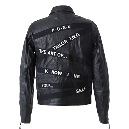 Art Comes First(アートカムズファースト) 19AW SART-LAI LEATHER JACKET