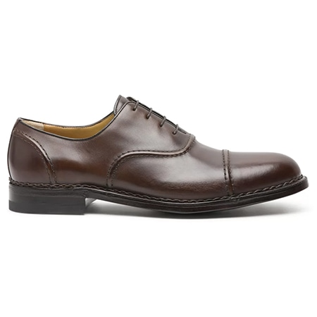 a.testoni(アテストーニ) 19AW AMEDEO TESTONI OXFORDS IN ANTIQUED LEATHER