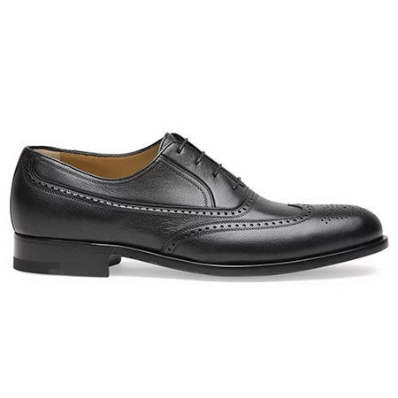 a.testoni(アテストーニ) 19AW BLACK LABEL OXFORD LACE-UPS IN LEATHER