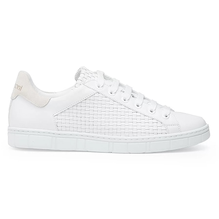 a.testoni(アテストーニ) 19AW ULTRA-LIGHT WOVEN SNEAKERS