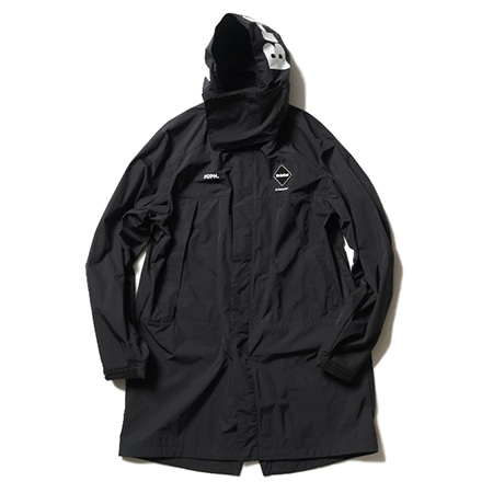F.C.Real Bristo(エフシーレアルブリストル) TOUR BENCH COAT BLACK