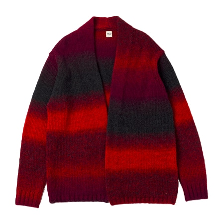 Ron Herman(ロンハーマン) Gradation Cardigan RED