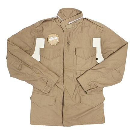 STUSSY(ステューシー)×ALPHA INDUSTRIES(アルファインダストリーズ)M-65 フィールドジャケット