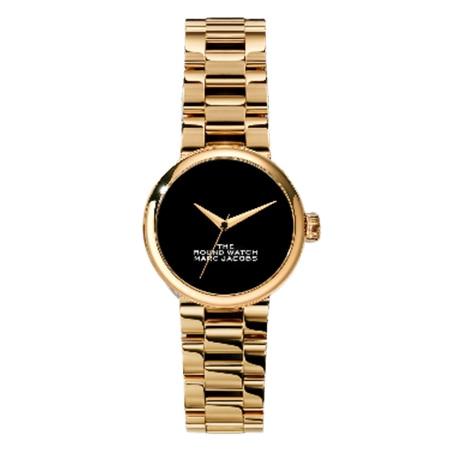 MARC JACOBS(マークジェイコブス) The Round Watch 32mm GOLD/BLACK
