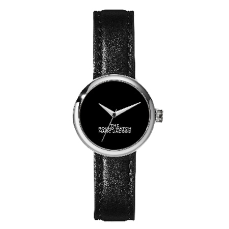 MARC JACOBS(マークジェイコブス) The Round Watch 32mm BLACK/SILVER
