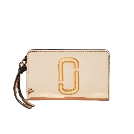 MARC JACOBS(マークジェイコブス) Gg Snapshot Compact Wallet GOLD