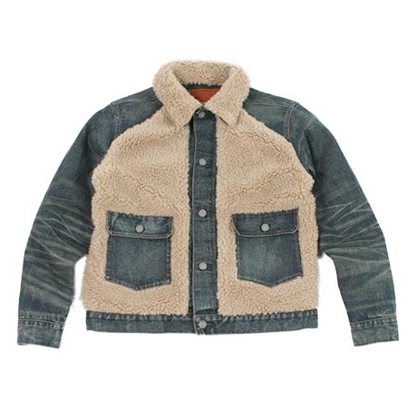 RRL(ダブルアールエル)  GRIZZLY JKT – BLUE