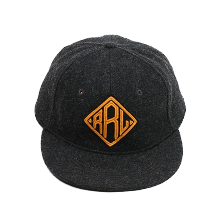 RRL(ダブルアールエル)  FITTED BALL-BLACK