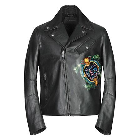 VERSACE(ヴェルサーチェ) 19AW Biker jacket