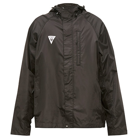 VETEMENTS(ヴェトモン) 19AW LOGO-PATCH HOODED TECHNICAL JACKET