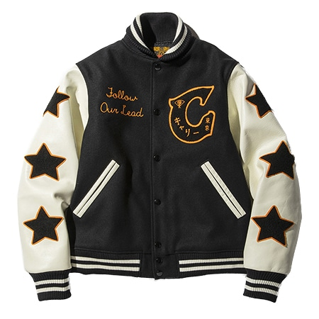Calee(キャリー) 19AW Wappen stadium jacket
