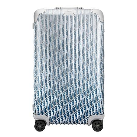 """DIOR HOMME(ディオールオム)×RIMOWA(リモワ) 20SS """"DIOR AND RIMOWA"""" ディオール オブリーク アルミニウム トランク スーツケース"""