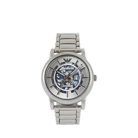 EMPORIO ARMANI(エンポリオアルマーニ)オートマチックウォッチ ステンレススチール製 60006 腕時計