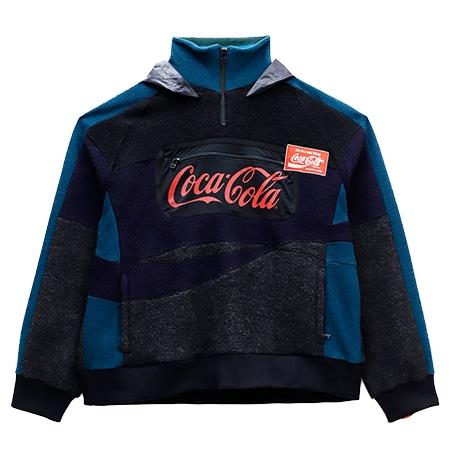 FACETASM(ファセッタズム) 19AW Coca-Cola MIX BIG HOODIE